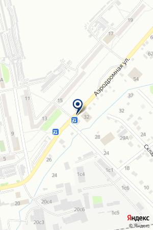 АЗС ТВТ-ЦЕНТР на карте Хабаровска