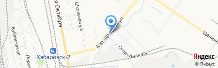 Транс-Бизнес на карте Хабаровска
