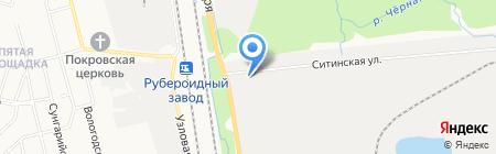 АЗС Ресурснефть на карте Хабаровска