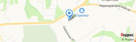 Магазин строительных материалов на карте Хабаровска