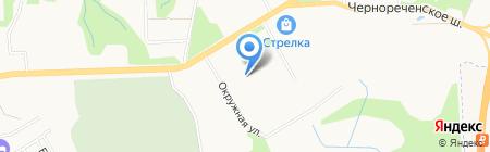 Детройт на карте Хабаровска