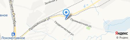 Fresh Sport на карте Хабаровска