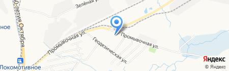 СК Эреду на карте Хабаровска