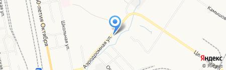 Хорс на карте Хабаровска