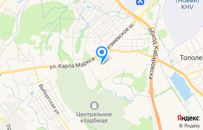 Местоположение на карте пункта техосмотра по адресу г Хабаровск, ул Окружная, д 2Б