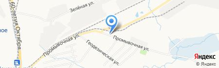 Марлен на карте Хабаровска