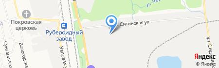 Монолит-Дальний Восток на карте Хабаровска