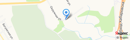 Туалет-ДВ на карте Хабаровска