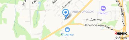 ЖЭУ №31 на карте Хабаровска