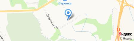 Квадра на карте Хабаровска