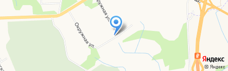 Ирбис на карте Хабаровска