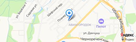 Совет ветеранов войны труда на карте Хабаровска