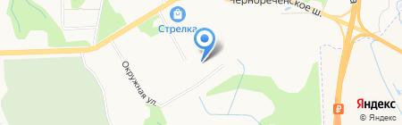 Флагман Амур на карте Хабаровска