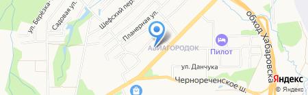 Моя Стая на карте Хабаровска