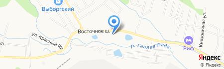 АЗС на карте Хабаровска