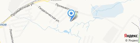 Коррекционный детский дом №3 на карте Хабаровска