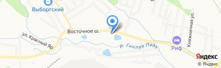 АЗС НК Альянс на карте Хабаровска