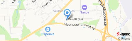 Стоматология на Данчука на карте Хабаровска