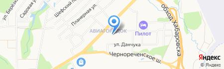 Almond на карте Хабаровска