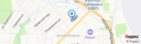 Средняя общеобразовательная школа №47 им. В.А. Тамгина на карте Хабаровска