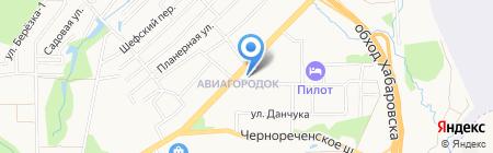 Дежурный на карте Хабаровска