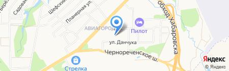 Мечта хозяйки на карте Хабаровска