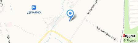 ДМК-Снаб на карте Хабаровска