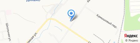 ВСТК на карте Хабаровска