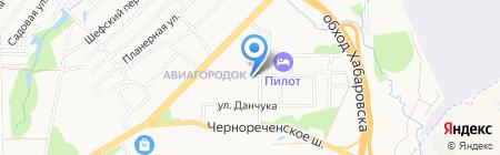 Комплексная проектная компания на карте Хабаровска