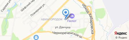 Капитошка на карте Хабаровска