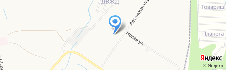 Инсталл на карте Хабаровска