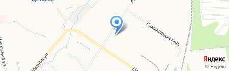 Хабаровский алюминий на карте Хабаровска