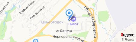 Детская школа искусств №6 на карте Хабаровска