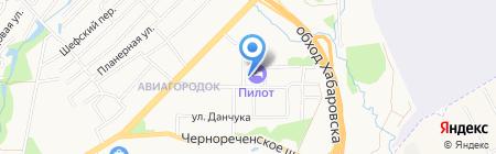 Центр по профилактике и борьбе со СПИД и инфекционными заболеваниями Хабаровского края на карте Хабаровска