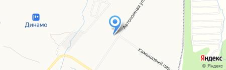 ДВ-Автотехснаб на карте Хабаровска
