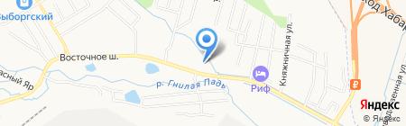 Хабаровский технологический колледж на карте Хабаровска