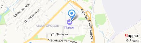 Vip на карте Хабаровска