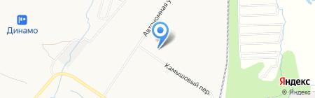 Алтуна на карте Хабаровска