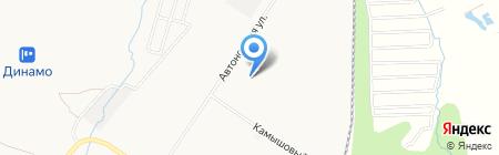 Аквилон на карте Хабаровска