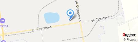 СПЕКТР на карте Хабаровска