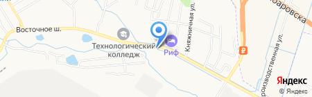 Dark Tone на карте Хабаровска