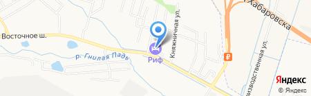 Аква-Прим на карте Хабаровска