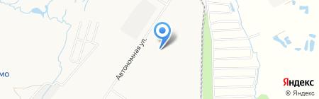 Гангут-ДВ на карте Хабаровска