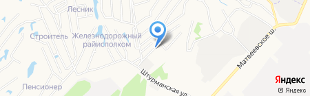 Энергоресурс на карте Хабаровска