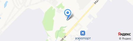 Аврора на карте Хабаровска