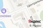 Схема проезда до компании Персик в Тополево