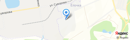 Перспектива ДВ на карте Хабаровска