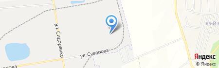 РайСтрой на карте Хабаровска