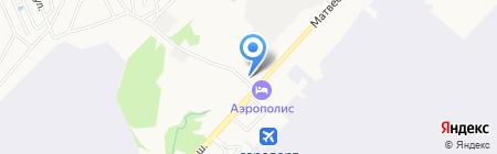 Центр Автоматики на карте Хабаровска