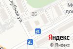 Схема проезда до компании Теремок в Тополево